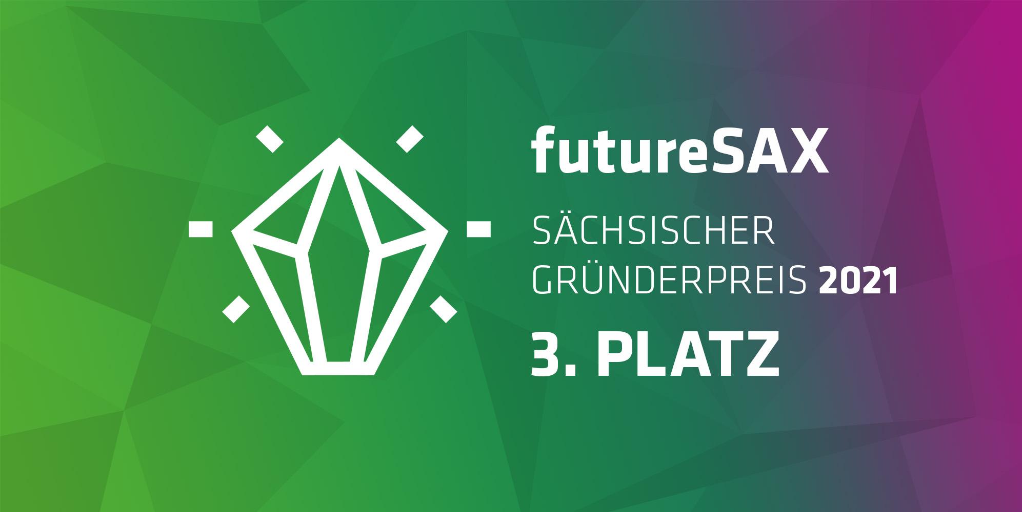futureSAX_Gründerpreis_3Platz_Icon_quer_verlauf
